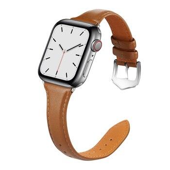 Ремешок из натуральной кожи для Apple Watch 38-42 мм 3