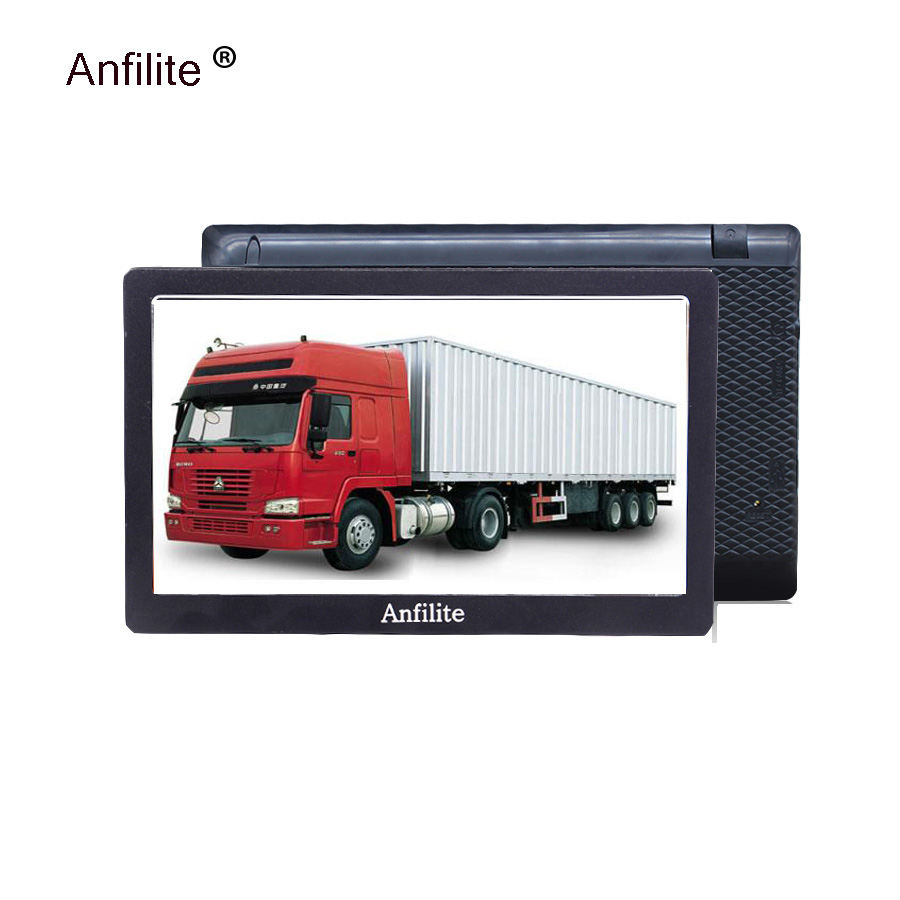 Bluetooth Gps Navigation Sat Nav Camping Europe-M Players Truck/vehicle 256M 7inch HD title=