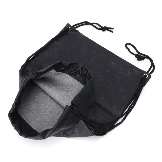 новая сумка унисекс с черепом и шнурком модный спортивный рюкзак фотография