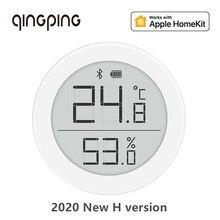 Cleargrass qingping bluetooth termômetro higrômetro temperatura hu mi dity sensor para apple siri homekit/mi jia app casa