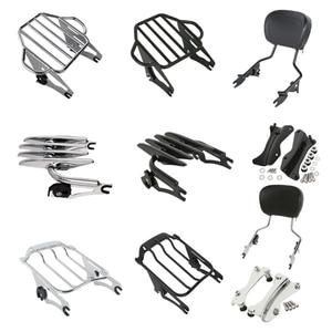 Image 1 - Rack para bagagem de motocicleta, rack destacável para barra sissy, kit de docking para harley touring road king, glide street glide 2014 2020