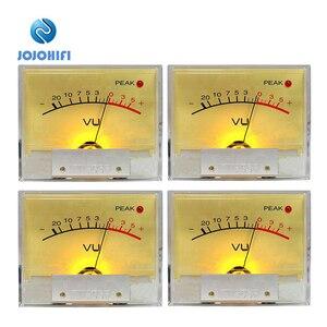 4 pces pico lâmpada TN-65F alta-precisão vu meter mesa cabeça op amp db amplificador de potência misturador nível lâmpada pico medidor de pressão sonora