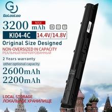 Golooloo 3200mah dizüstü HP için batarya KI04 HSTNN DB6T HSTNN LB6S TPN Q158 TPN Q160 800050 001 Pavilion 14 ab011TX 15 ab038TX
