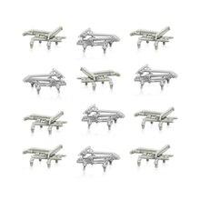 20pcs 1:160 N scale train model accessories decorative pantograph miniature parts kits for diorama railway scene making