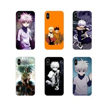 Accessories Phone Shell Covers hunter x hunte For Samsung Galaxy A3 A5 A7 A9 A8 Star A6 Plus 2018 2015 2016 2017(China)