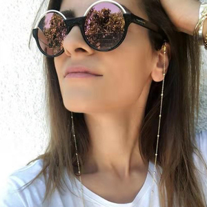 Gold Glasses Chain, Gold Sunglasses Chain, Laces for Sunglasses, Sunglasses Chain Necklace, Sunglass Holder, Gift for Her