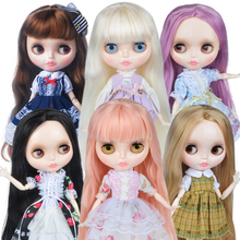 Blyth Doll Customized NBL Shiny Face,1/6 BJD Ball Jointed Doll Custom Blyth Dolls for Girl, Gift for Collection