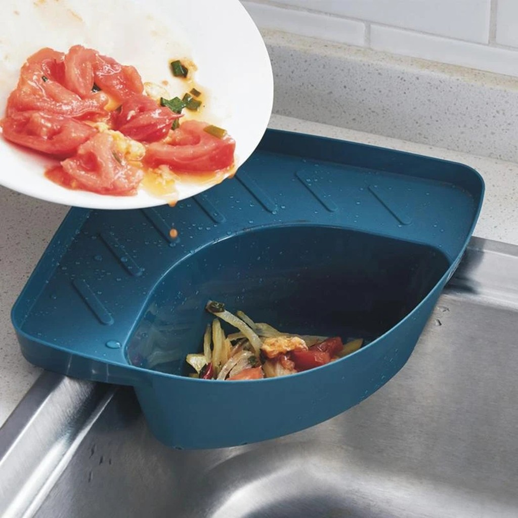 Cozinha do agregado familiar drenos filtro de resíduos de alimentos cremalheira pia vegetal filtro de água filtro de lixo alimentos catche mais limpo