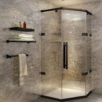 1 set Silver/Gold/Black Shower Door Bearing For Pulling Glass Door Electroplated Shower Door Accessories Shower Cabin Room