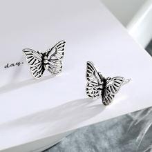 Новые серьги в стиле ретро с бабочками для женщин роскошные