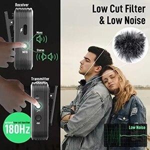 Image 2 - Беспроводной петличный микрофон SYNCO G1 G1A1 G1A2, передатчик для смартфонов, ноутбуков, DSLR, планшетов, видеокамер, рекордер pk comica