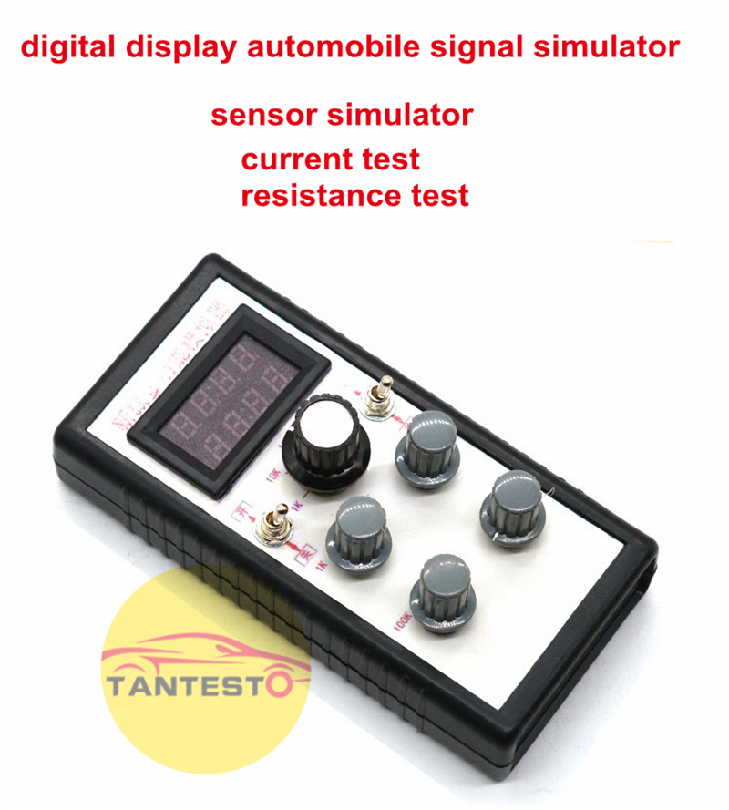 Car Truck Automobile Signal Sensor Electric Current Resistance Simulator Tester Tool For Sensor Etc.