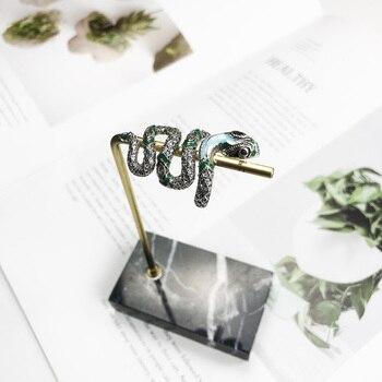 Bague serpent en argent