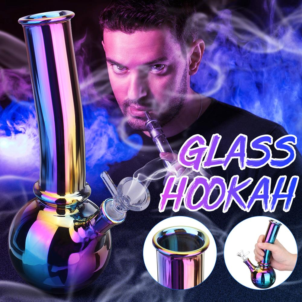 Glass Hookah Glass Pipes Glass Hookah for Smoking Reusable Durable 1