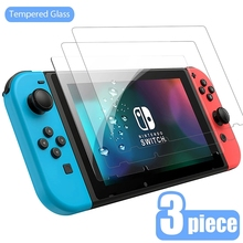 2/3PCS Protective Glass For Nintend Switch Tempered Glass Screen Protector for Nintendos Switch Lite NS Glass Accessories Film