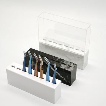 Pęseta do rzęs uchwyt pęseta do brwi stojak do przechowywania rzęs pęseta przedłużanie rzęs szczypce akrylowe uroda narzędzia do makijażu tanie i dobre opinie Wendy Lashes CN (pochodzenie)