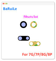 BaRuiLe 50sets Zurück Kamera Glas für iPhone 7 Plus 4,7