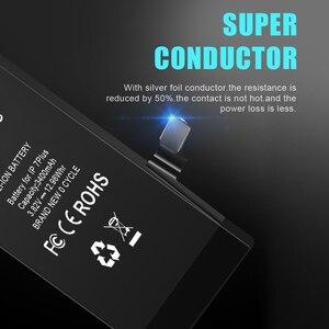Image 4 - Gerçek kapasite pil iPhone 7 7 artı 8 8 artı 5S yedek Bateria iPhone 7G için 8G 7 P 8 P 7 artı 8 artı 5S piller