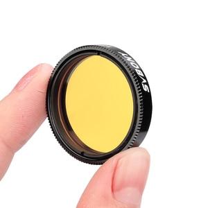 """Image 5 - SVBONY 1.25 """"ay filtresi + CPL filtre + beş renk filtre kiti geliştirmek için ay ve planet görünüm azaltır ışık kirliliği en iyi F9135A"""