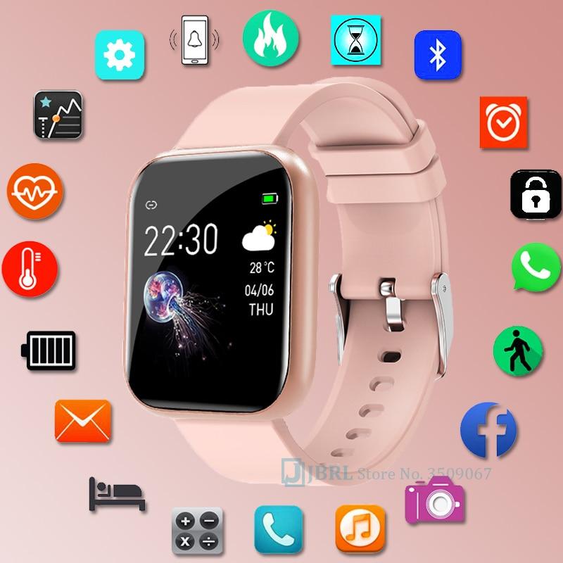Спортивные силиконовые смарт-часы для мужчин и женщин Смарт-часы для Android IOS Водонепроницаемый Фитнес-трекер Bluetooth электронные смарт-часы