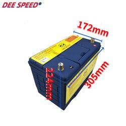 Akumulator LifePo4 do samochodu 12V 100Ah 95D31 fosforan litowo-żelazowy rozruch silnika akumulator do bmw zapłon samochodu z bms o dużej pojemności