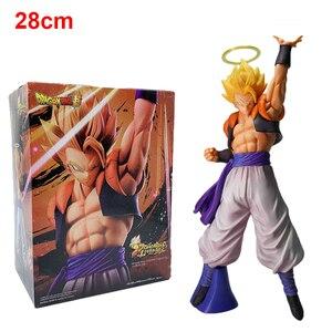 Image 4 - Figura de acción de Dragon Ball Z, modelo coleccionable en Pvc de 26cm de pelo plateado Ultra instinto de Goku Super Saiyan, No Goku, Gokui