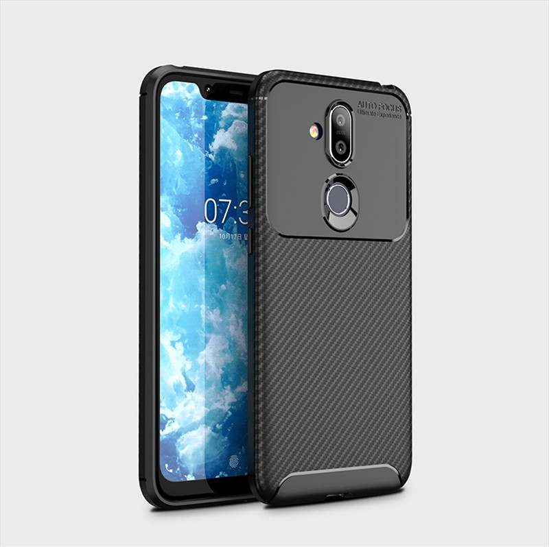 Phone <font><b>Case</b></font> For <font><b>Nokia</b></font> <font><b>8.1</b></font> <font><b>Case</b></font> <font><b>Silicone</b></font> Cover For <font><b>Nokia</b></font> <font><b>8.1</b></font> Soft Shockproof <font><b>Case</b></font> Back Cover Funda For <font><b>Nokia</b></font> <font><b>8.1</b></font> image