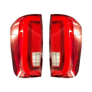 Image 4 - 1 Cặp Đèn Đuôi Cho Nissan Navara Np300 2015 2016 2017 2018 2019 Đèn Led Âm Trần Dạng Tấm Mỏng Phía Sau Đèn Xe Ngược Tín Hiệu phanh