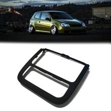 רכב מיזוג אוויר פנל CD לוח Surround רדיו Trim עבור ג טה גולף 5 MK5 MK6 2011 1KD858069