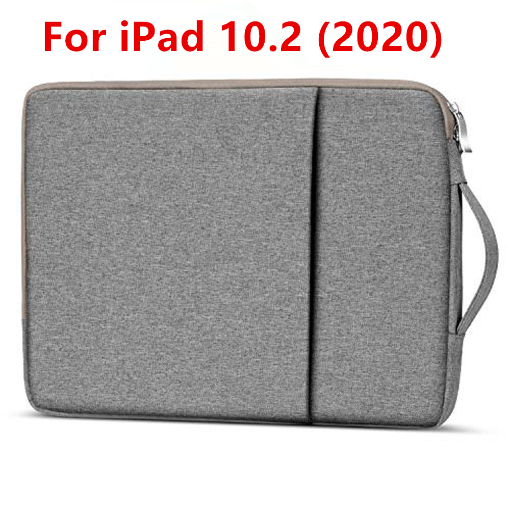 Tablet Sleeve Case For iPad 10 2 2020 Travel Cover Pouch Bags For iPad 8th generation