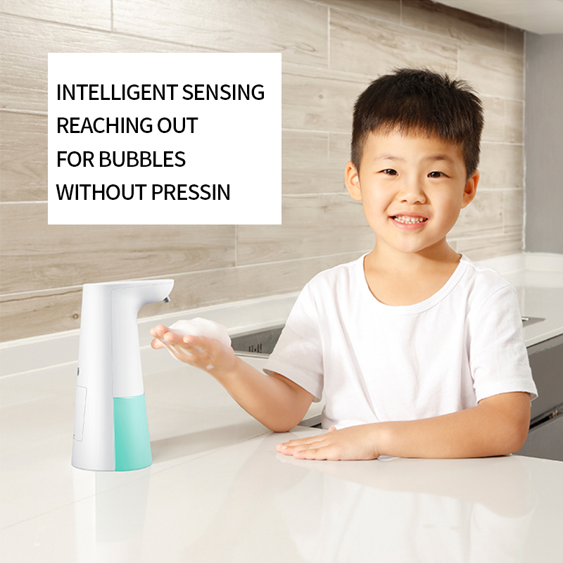 New Automatic Induction Soap Dispenser Hand Sanitizer Household Children Bacterial Hand Washing Bubble Machine