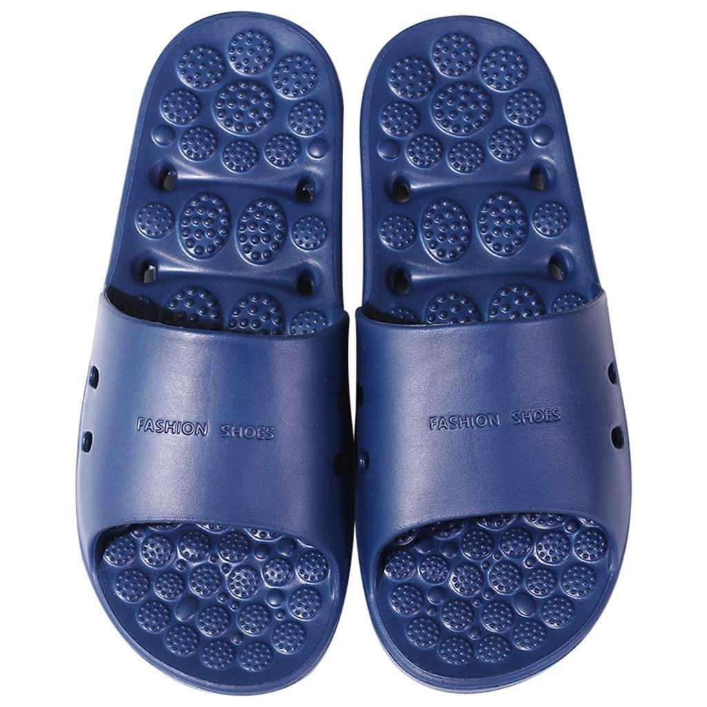 Shower Slippers Bathroom Sandals Indoor Massage Home Shoes