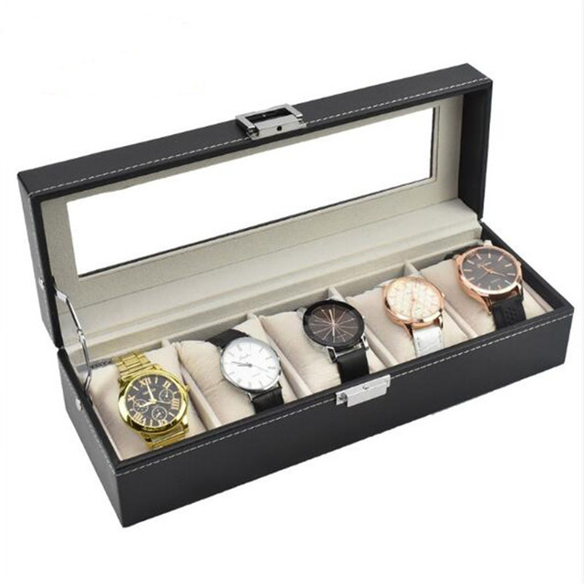 Watch Box PU Leather Organizer 3