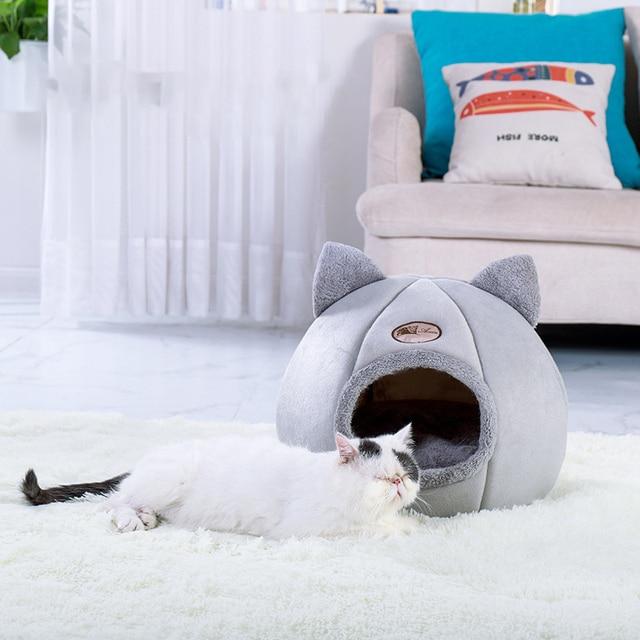Super Cozy Kitty Cave Sleeper  2