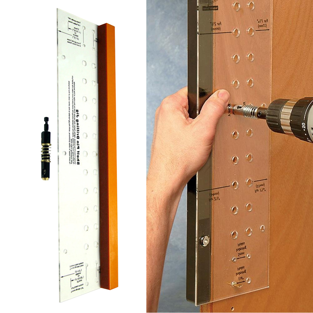 Tool Hinge Mounting Multifunctional Cabinet Door Home Shelf Pin Drilling Jig Woodworking Self-Centering Mini Bit Reaming