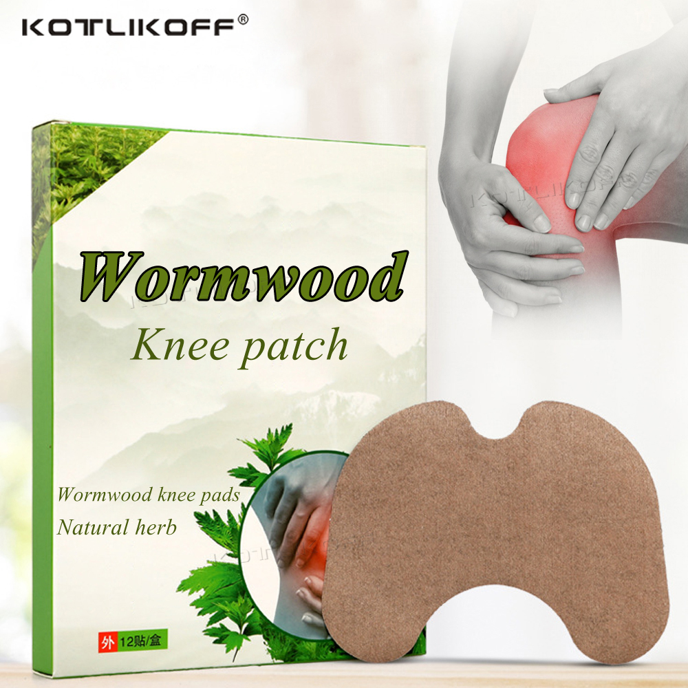 1pcs/6pcs/12pcs Knee Medical Plaster Wormwood Extract Joint Ache Pain Relieving Sticker Rheumatoid Arthritis Patch Insert