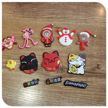 New Animation Cartoon Silicone Patch Mobile Phone Shell Materials Handmade Diy Accessories Key Chain Pendant Accessories(China)