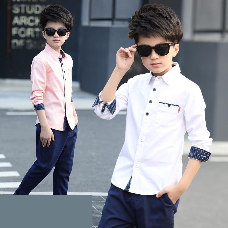 Children Boys Fashion Shirts