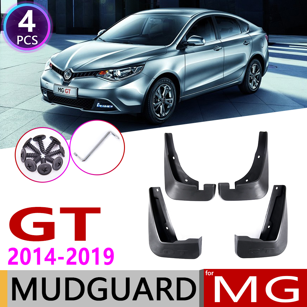 Front Rear Car Mudflaps For MG GT MGGT 2014 2015 2016 2017 2018 2019 Fender Mud Guard Flaps Splash Flap Mudguards Accessories