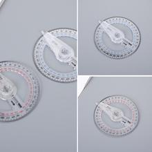 Finder-Supplies Protractor-Arm Plastic for Sch Y5M1 1pcs 10cm 360-Degree Ruler Swing