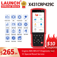 2020 Elite version LAUNCH X431 CRP429C Car diagnostic tool OBD OBD2 Code Reader Scanner with 11 special functions PK CRP129E
