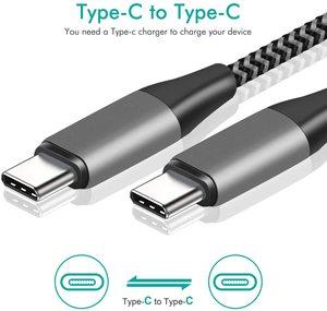 Кабель USB Type C Micro USB для быстрой зарядки кабель USBC для USB C кабель PD 60 Вт для IPAD PRO type c зарядный кабель для ПК и ноутбука