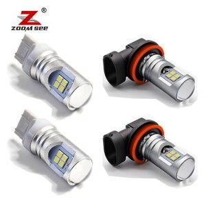 12pcs Front rear turn signal fog LED light LED tail light reverse brake bulb kit For Nissan X Trail x-trail T30 2001-2007(China)