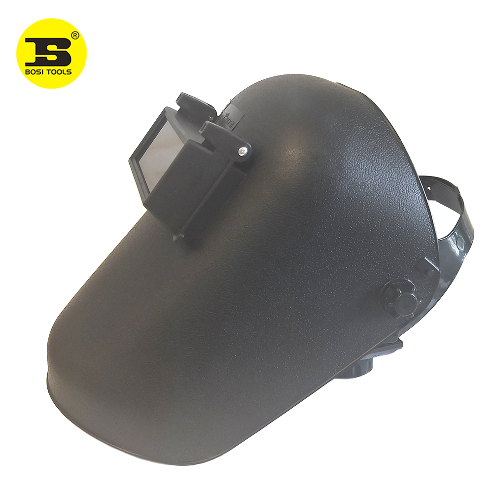 BOSI 3PC  PP Head-mounted Flame UV Insulating Electric Welding Veil
