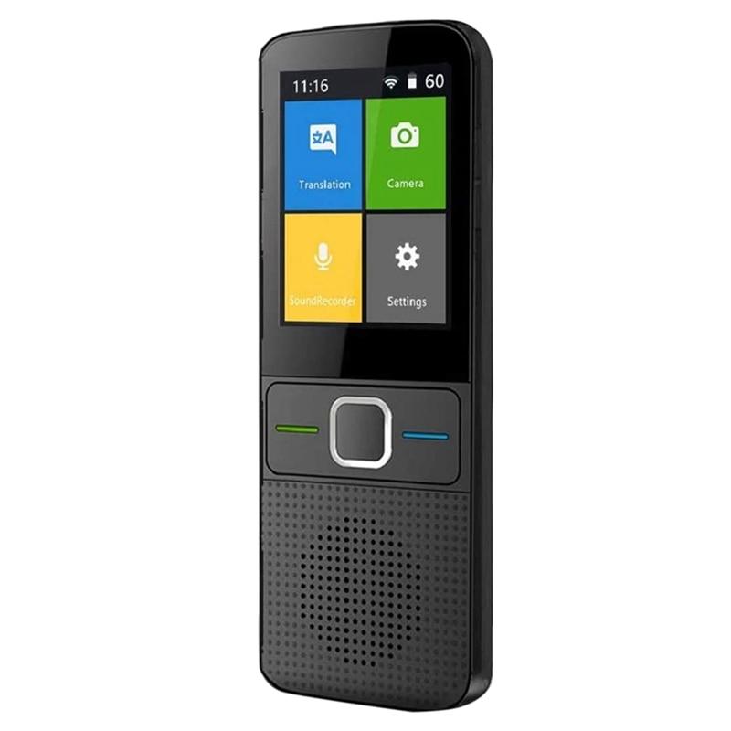 Language Translator Device,with Press Screen Offline Translation Device,13Countries Offline Voice Translation