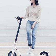 Европа 1:1 копия xiaomi M365 mi Электрический самокат Скутер электрический скутер Байк, способный преодолевать Броды Электрический шаг скутер складной