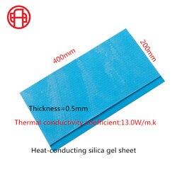PC de teléfono móvil de 0,5mm de espesor 13W, Led CPU IC con almohadilla térmica, relleno de huecos, material de enfriamiento