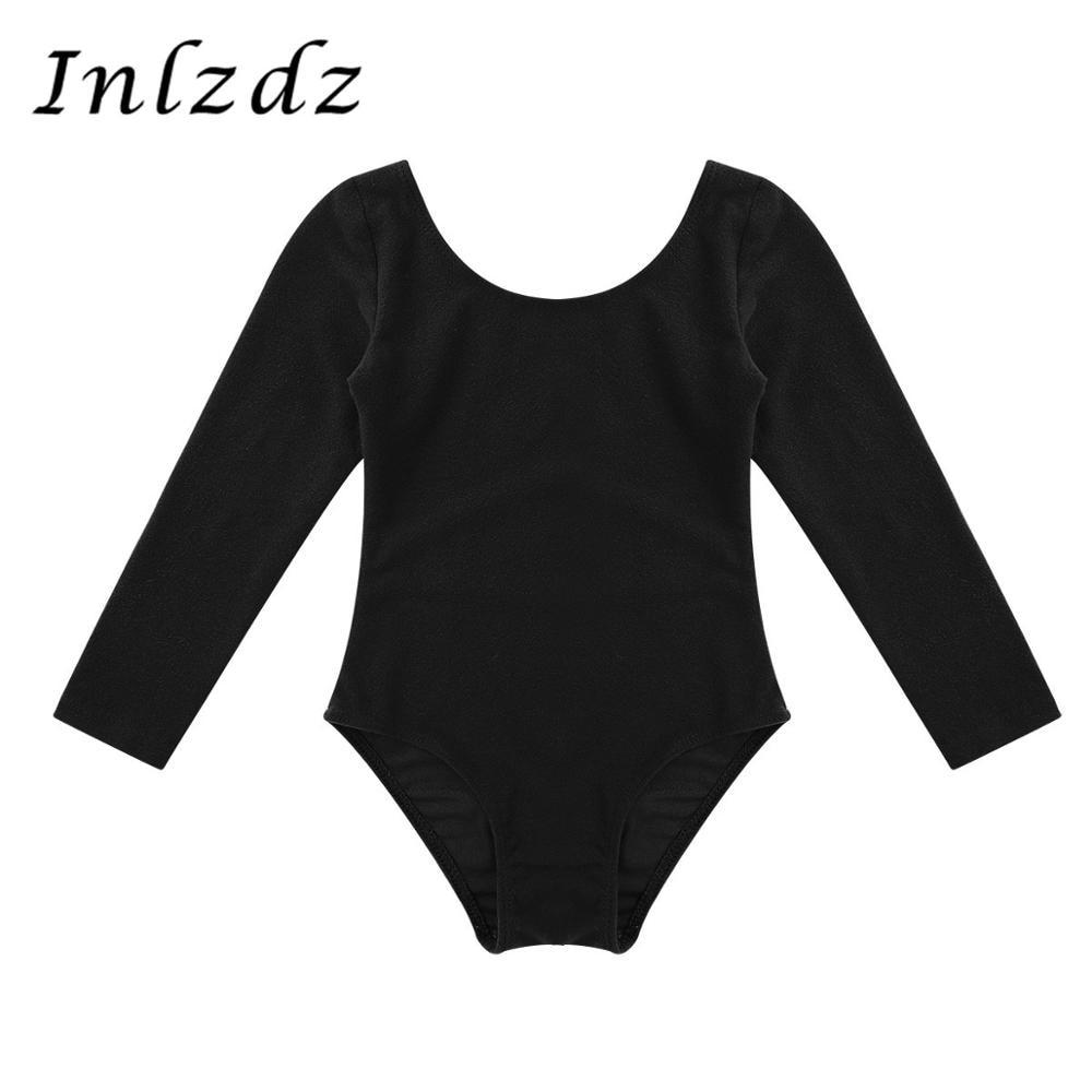 Children's Gymnastics Leotard Swimsuit For Dancing Ballet Leotard Bodysuit Kids Girls GymnasticsBallerina Tutu Dancewear Costume