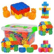88 pçs digital carta cubo blocos de construção montagem diy tijolos criativos com caixa armazenamento do bebê educação precoce brinquedos para crianças