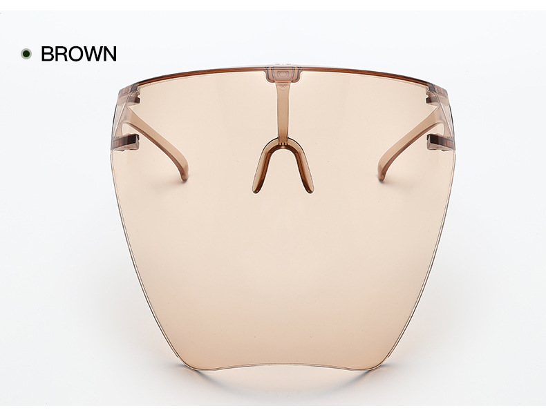 Full Face Sunglasses Colorful/Transparent Protective Mask Full Face Shield Wholesale A9145